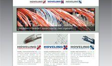 Website gebouwd voor Hoveling Communicatietechniek in Amsterdam. Ontwerp door Frouin Designs
