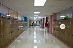 Right before students filed in for the first day of school-2015