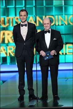 Jim Parsons and Bob Newhart                              …