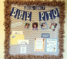 Bulletin board for PTO