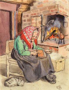 Visit the post for more. Elsa Beskow, Baby Quiet Book, Artists For Kids, Children's Book Illustration, Book Illustrations, Art Themes, Naive, Diorama, Vintage Art