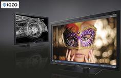 Sharp's first 4K 32-inch IGZO LCD PN-K321 - 3840 x 2160, billion colors