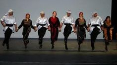 Traditional  lebanese step dance (Dabke)