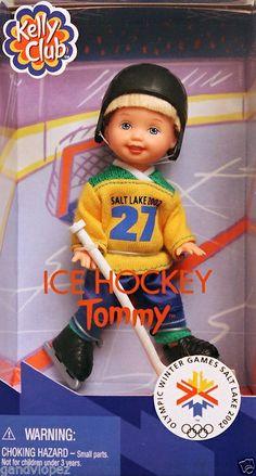 Kelly Club Ice Hockey Tommy Olympic Winter Games Salt