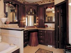 Traditional Bathroom Vanities   - For more go to >>>> http://bathroom-a.com/bathroom/traditional-bathroom-vanities-a/  - Traditional Bathroom Vanities, Bathrooms require sufficient amount of storage that doesn't eat up the bathroom space. This way there will be no items cluttering bathroom surfaces and you will be able to move about easily in the bathroom. Traditional bathroom vanities have this ample storage and a...