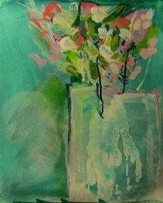 Flowers study Vi by Colette Wirz Nauke | mixed media artwork | Ugallery Online Art Gallery