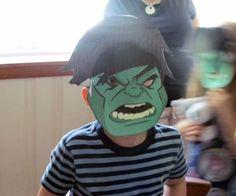 Great boys party theme: Incredible Hulk