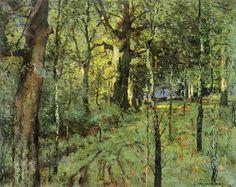 The Athenaeum - Forest Interior (William Wendt - )
