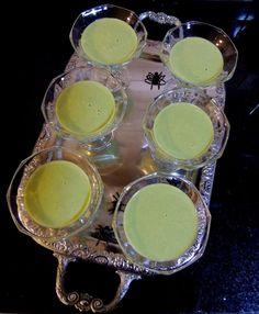 Halloween treats: slime soup