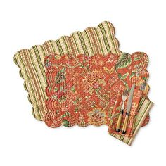 Morrisville Reversible Table Linens