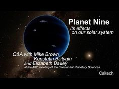 More evidence for a 9th plane | EarthSky 10/21/16 Is a hypothetical large planet- far beyond Neptune, causing a tilt in the sun?