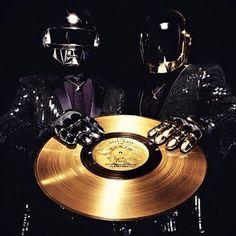 """vinylespassion: Daft Punk """