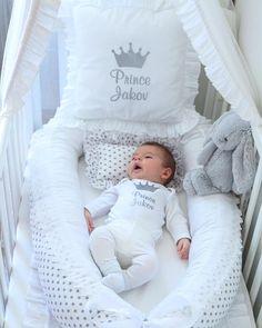 Ideas For Baby Boy Bedding Births Baby Boy Bedding, Baby Pillows, Baby Bedroom, Baby Boy Rooms, Baby Room Decor, Baby Boy Nurseries, Nursery Room, Baby Bottle Storage, Baby Room Design