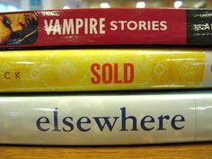 Book Spine Poetry!  Great way to integrate Common Core Standards RL.4 and RI.4