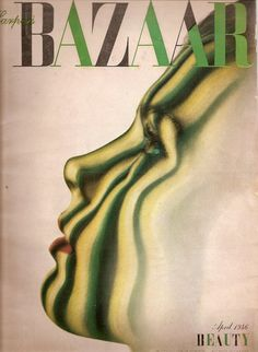 cMag060 - Harper´s Bazaar Magazine cover by Alexei Brodovitch / April, 1946.
