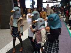 Pigeon Mask as a Lifestyle Choice