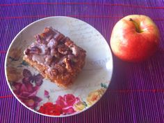 apple, bacon & bourbon coffee cake