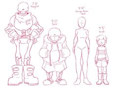 Why yes I like these head canon heights Undertale Comic Funny, Undertale Memes, Undertale Drawings, Undertale Cute, Undertale Fanart, Frisk, Art Reference Poses, Drawing Reference, Character Art