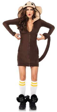 Cozy+Monkey+Costume from Buycostumes.com