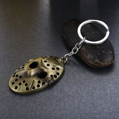 Buy FRIDAY THE 13TH Mask Keychain at Pica Collection for only $ 11.82