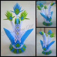 3D Origami - Swan  For Orders & Inquiries  sms|viber: (+63) 906-2995148 beaufaceshop@gmail.com FB: /beaufaceshop  #origami #papercraft #3d