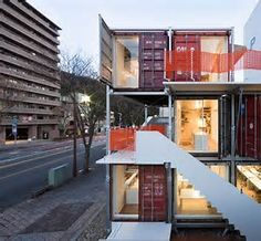 Image result for shipping container homes in europe