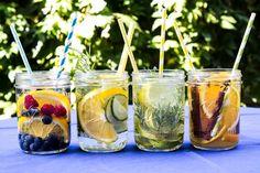Orzeźwiający napój na upalne dni, koniecznie podany w słoikach firmy Ball