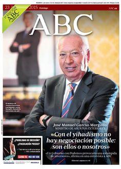 La portada de ABC del domingo 23 de agosto