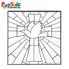 VBS and Camp Crafts, Paper Dove Puzzles, Black and White, 4 x 4 Inches, 30 Count Camping Crafts, Fun Crafts, Paper Crafts, Vacation Bible School, To Color, Colored Pencils, Puzzles, Coloring Pages, Count
