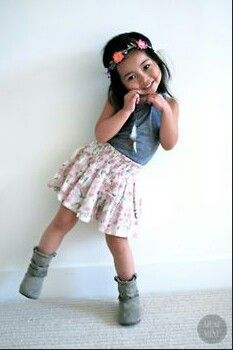 Such a cute little girl!