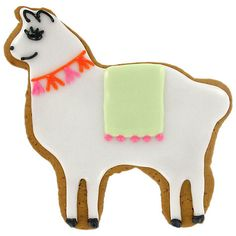 Buy Image on Food Hand Decorated Iced Gingerbread Llama, 50g Online at johnlewis.com