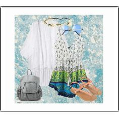 Playsuits by vill-ain on Polyvore featuring polyvore fashion style Monsoon Designers Guild