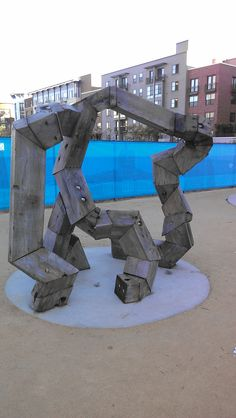 Metallic, Upside-Down, Octopus Legs. #urban #solelydescriptive #noidea