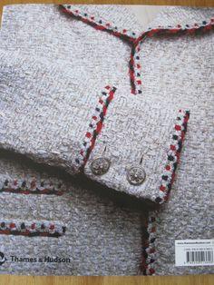 Chanel, orilla de chaqueta fácil