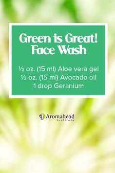 I love to make face washes that don't use soap, but rather use essential oils and skin nourishing carrier oils. Find another great face wash here: https://youtu.be/hkJhlNW5nJo
