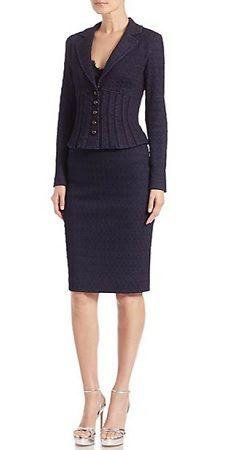 Stylish Skirt Suit: Nanette Lepore