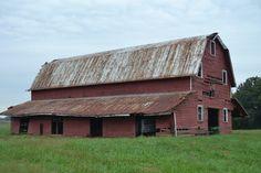 Old Red Barn...Smithfield, Virginia.