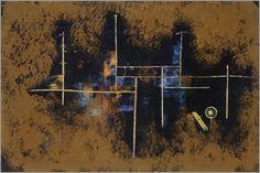 Paul Klee - Gerüst eines Neubaues. 1930. Nr.1.