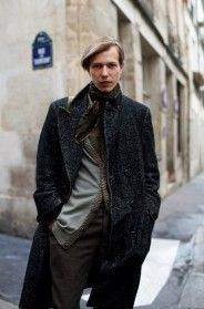 If You're Thinking About…. Herringbone Tweed Coats « The Sartorialist --  I've been wearing mine!!!