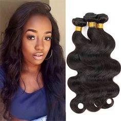 3 Bundles Brazilian 100% Human Body Wave Hair Extensions