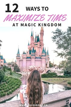Walt Disney world is one of the busiest places in the world. When you visit you will want to be able to get the most out of your Disney days. These 12 tips to help maximize time at Magic Kingdom can actually make your day SO MUCH BETTER! Don't forget to save this pin to your board so you don't have to find it later and have a better time at Walt Disney World resort in Orlando Florida. #waltdisneyworld #magickingdom #disneytips #disneytripplanning.