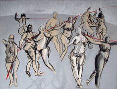 Figure Painting, Figurative, Collage Art, Saatchi Art, Paintings, Paper, Artist, Painting Art, Painting