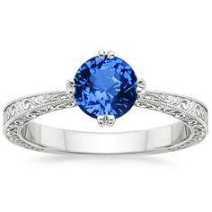 Top Twenty Sapphire Rings - SAPPHIRE TRUE HEART RING