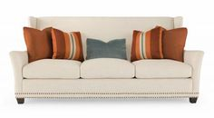 Deep sofa, down pillows, can go and pick the fabric for sofa and all the pillows- Bernhardt