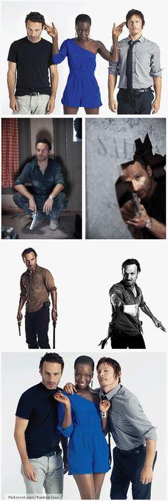 The Walking Dead favorite characters.