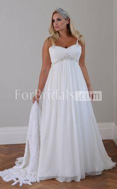 Beautiful Plus Size Wedding Dresses For more great ideas go to www.destinationweddingcollective.com