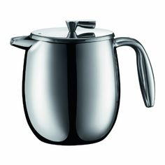 Bodum Columbia 4 Cup Stainless Steel Thermal Vacuum Coffee Press, 0.5 l, 17-Ounce