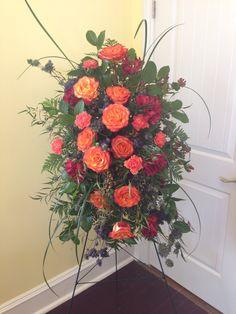 Funeral flowers.  Heritage Funeral Homes, Crematory and Memorial Parks, Arizona #funeralflowers #funeral #flowers