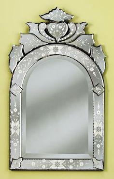 "Venetian Gems VG 013 Julia Venetian Mirror-32"" x 19.5"""