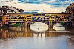 Ponte Vecchio, Puento viejo, Florencia, Italia